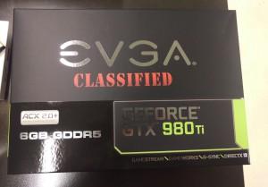 EVGA GTX 980 Ti