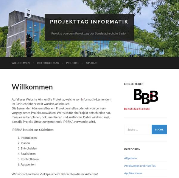 Projekttag Basislehrjahr BFS BBBaden